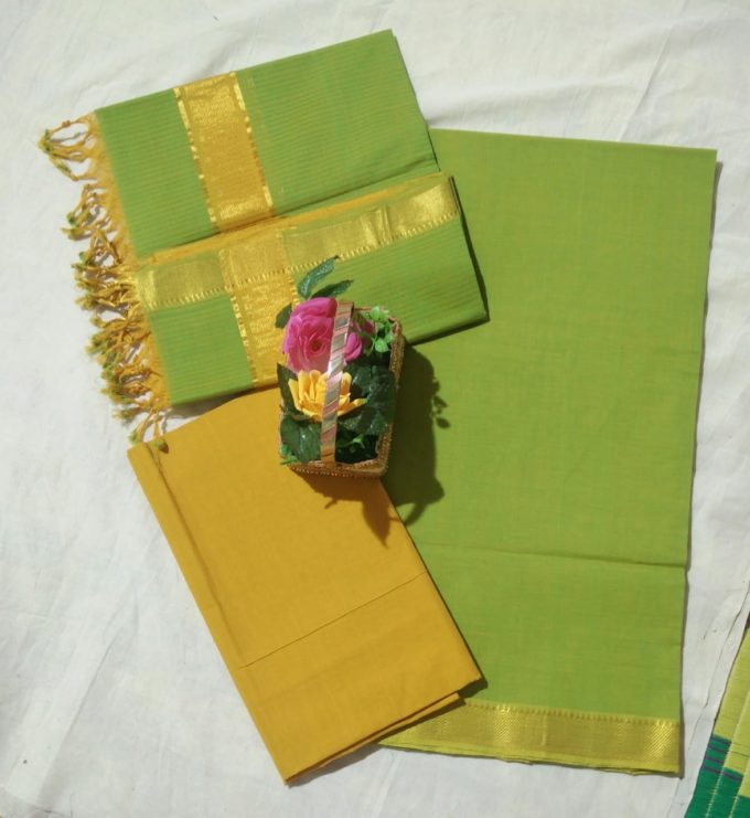 Mangalagiri cotton dress material