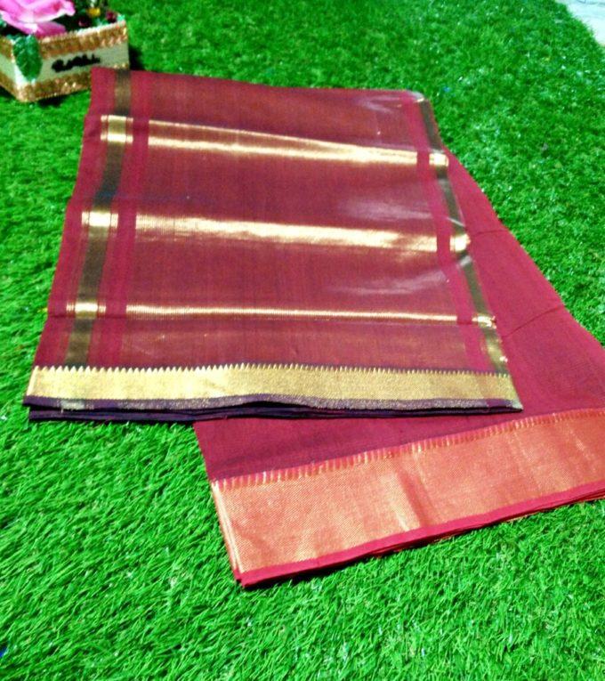 mangalagiri pure cotton saree