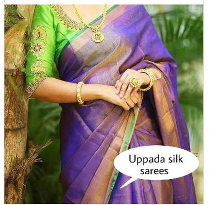 uppada tissue silk sarees