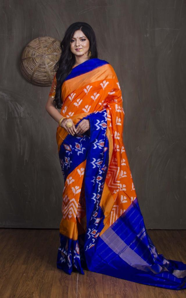 Ikkat Pochampally saree