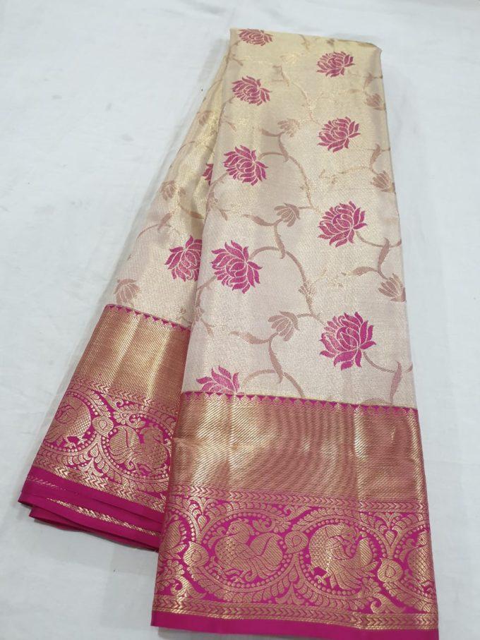 Kanchi silk saree -ks191