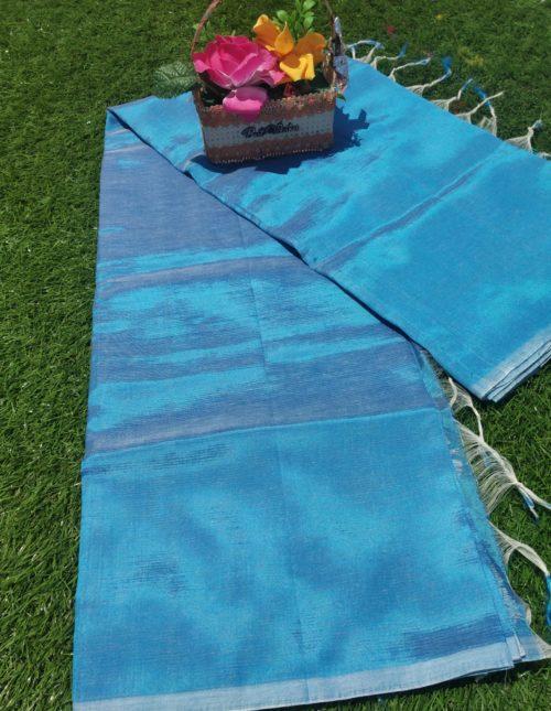 Plain mangalagiri silk sarees-129