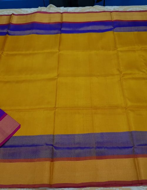 yellow uppada pattu sarees-u181