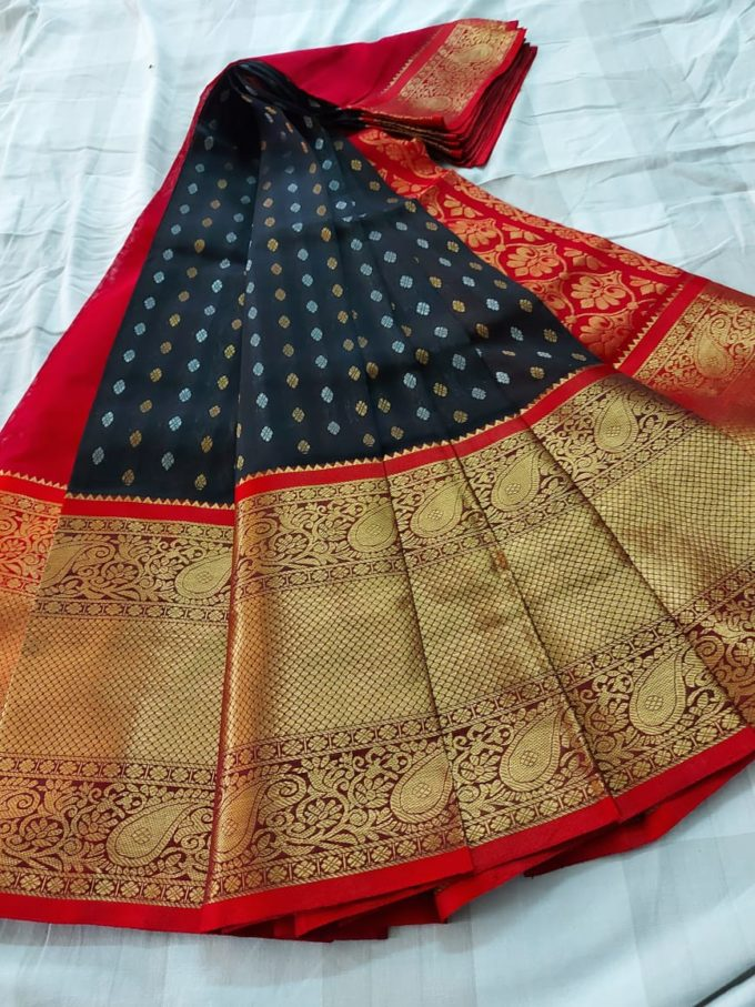 Kuppadam silk saree-k565