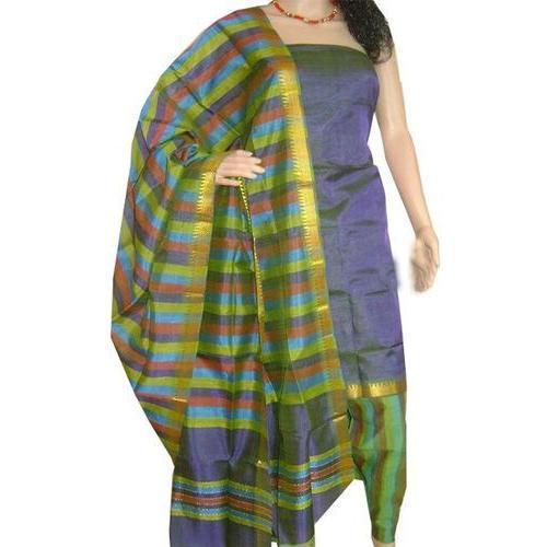 Mangalgiri Silk Dress Materials